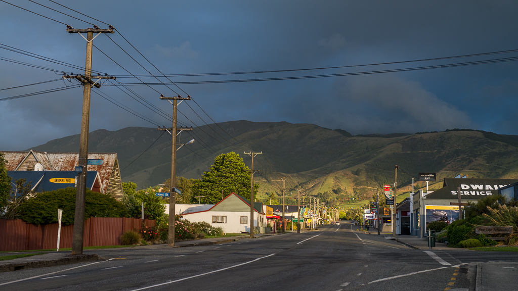 The Tapanui township