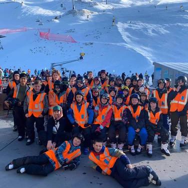 Ski Trip with Blue Mountain College