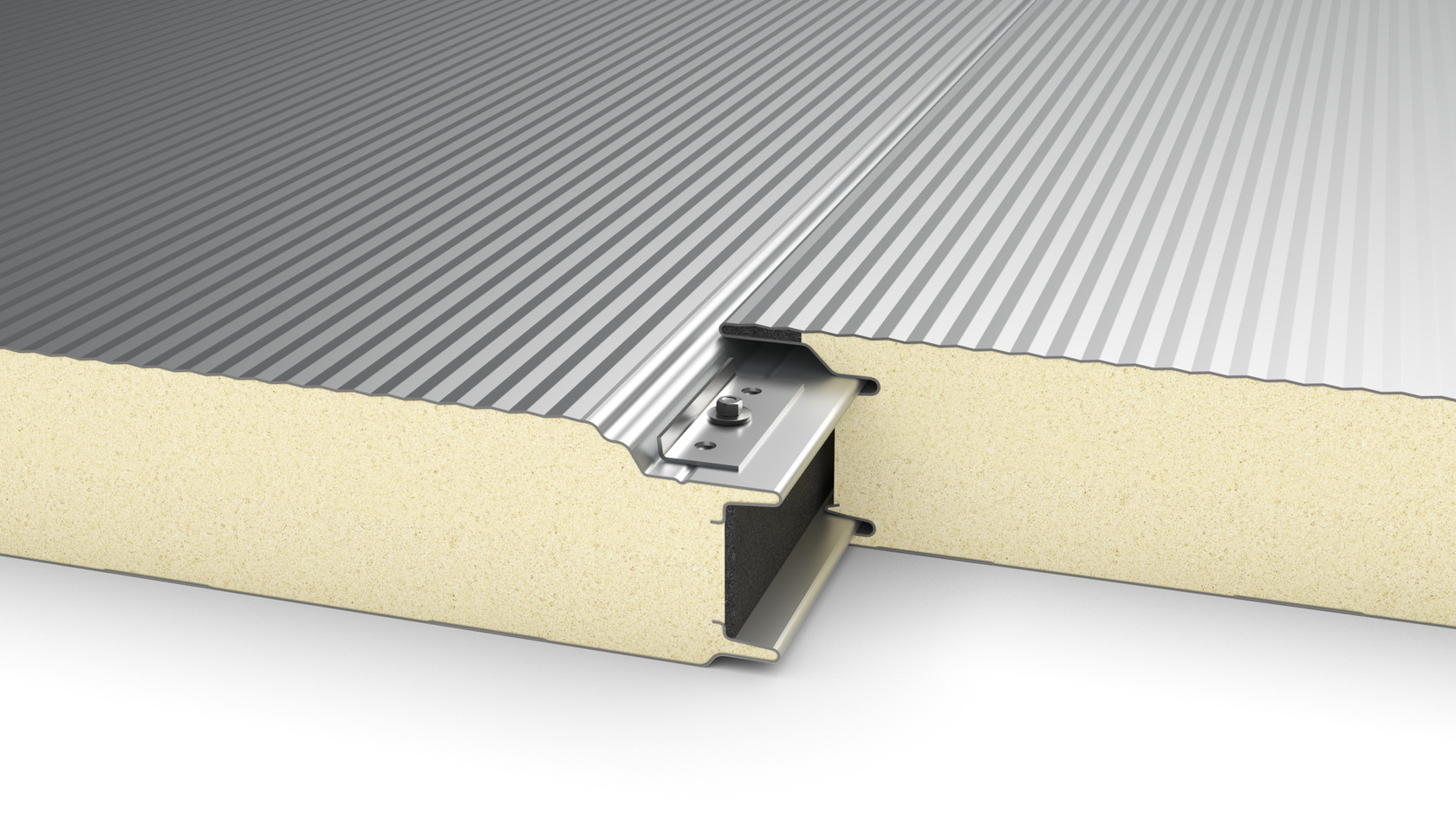 Wall Insulation Panel - Hidden fixing -