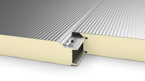 Wall Insulation Panel - Hidden fixing -