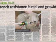 Drench resistance is real and growing