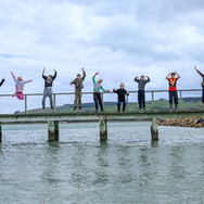 Fun on the pier with Blue Mountain College
