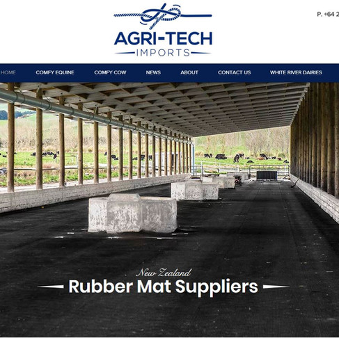 Agri-Tech Imports ~ Tapanui ~  New Website Build