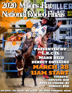National Rodeo Finals Poster 2020