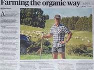 Farming the organic way