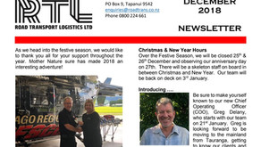 2018 RTL Newsletter - Read it now!