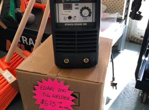 200A Inverter ARC Welder - In Store Now!