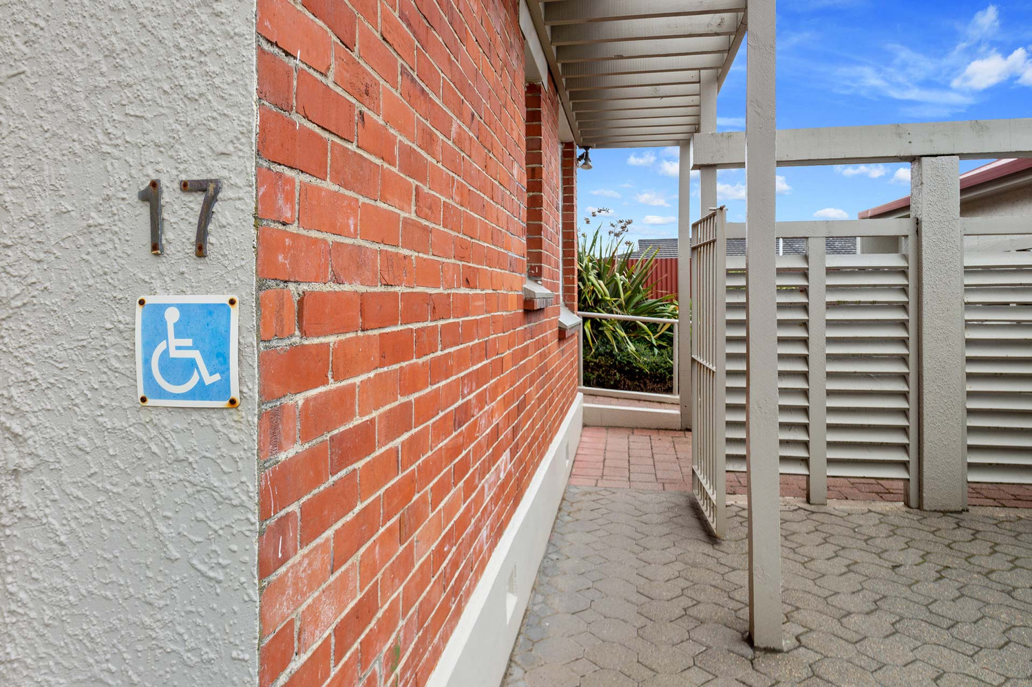 Two Bedroom Unit with Wheelchair Access