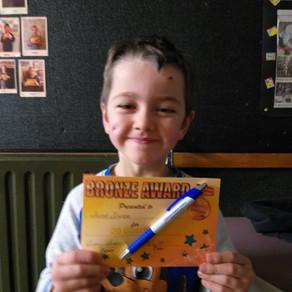 Jacob Achieves Bronze
