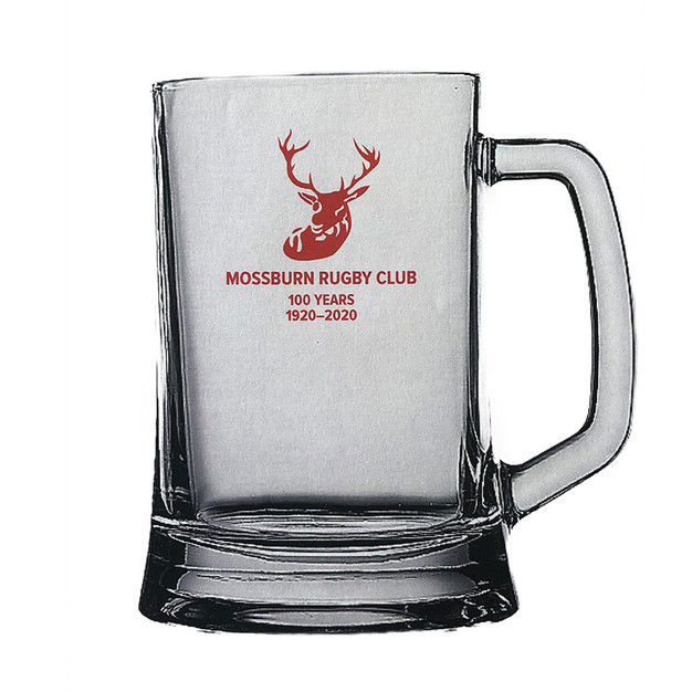 Mossburn Rugby Club Beer Glasses