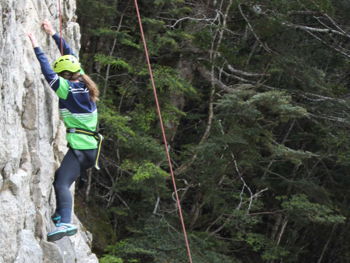Rock Climbing with Blue Mountain College 2