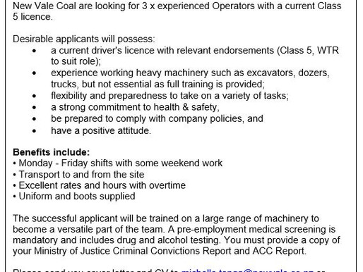 Truck Driver / Operators Wanted ~ ** Positions have been filled