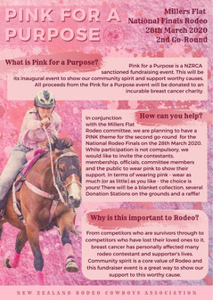 Pink for Purpose Poster