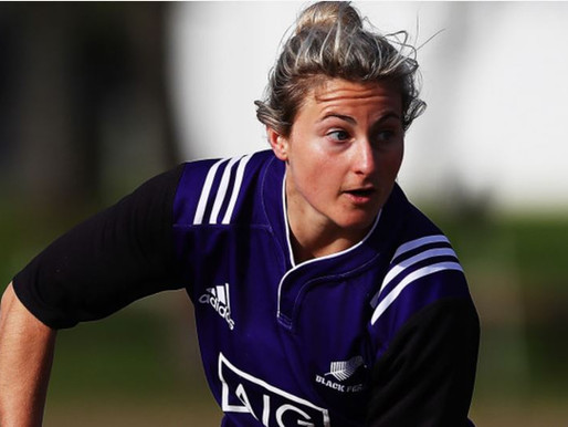 Amy Rule makes the Black Ferns Development!