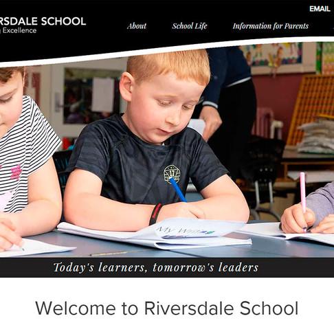 Riversdale School Online Makeover