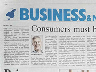 Consumers must be the focus report