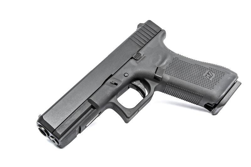 Upgraded WE-Tech G17 Gen5 Airsoft GBB Pistol