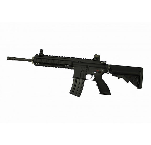 Upgraded WE HK416 Airsoft AEG Rifle
