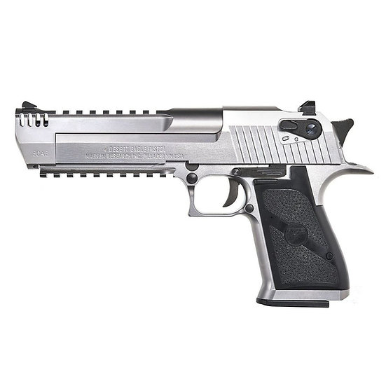 Upgraded Cybergun Desert Eagle L6 GBBR Airsoft Pistol - Silver