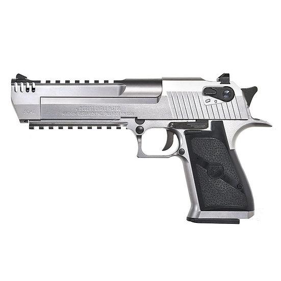 Upgraded Cybergun Desert Eagle L6 GBBR Airsoft Pistol - Silver