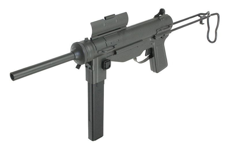 Upgraded S&T M3A1 Grease gun Airsoft AEG SMG