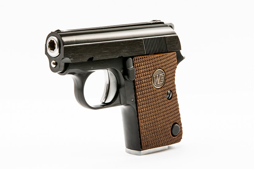 WE Colt .25 GBB Airsoft Pistol (Black version)
