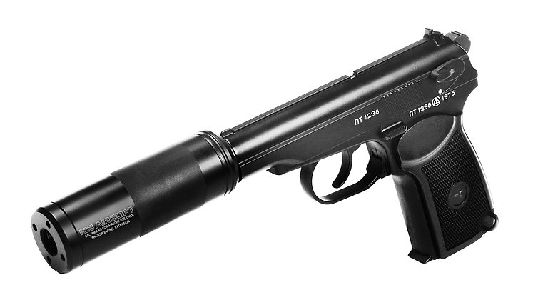 Upradeded ICS PM2 Airsoft Pistol
