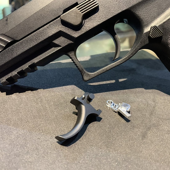 CNC Trigger and Sear Set for A.E.G. P320 by Airsoft Spec Studio