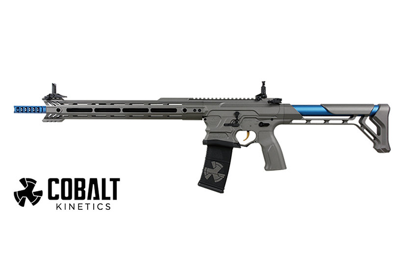 Upgraded G&G Cobalt Kinetics BAMF TEAM Airsoft AEG Rifle
