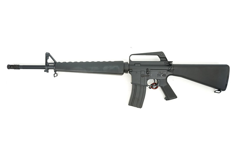 Upgraded CYMA M16A1 Airsoft AEG Rifle