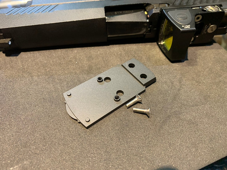 CNC RMR Conversion Base for A.E.G. P320 by Airsoft Spec Studio