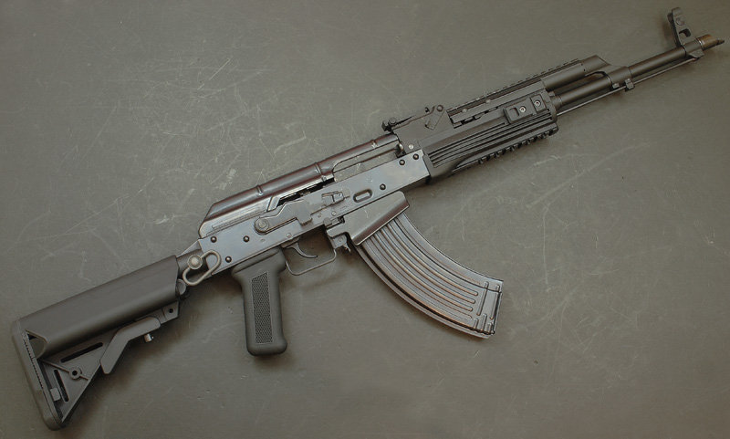 Upgraded WE AK PMC GBB Airsoft Rifle