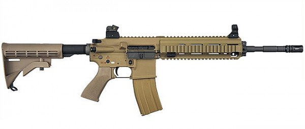 Upgraded WE HK416 Airsoft GBB Rifle LV1