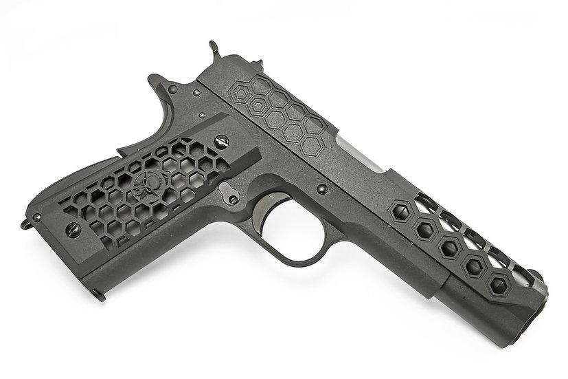 WE-Tech 1911 Hex Cut Gen. 2 GBB Airsoft Pistol