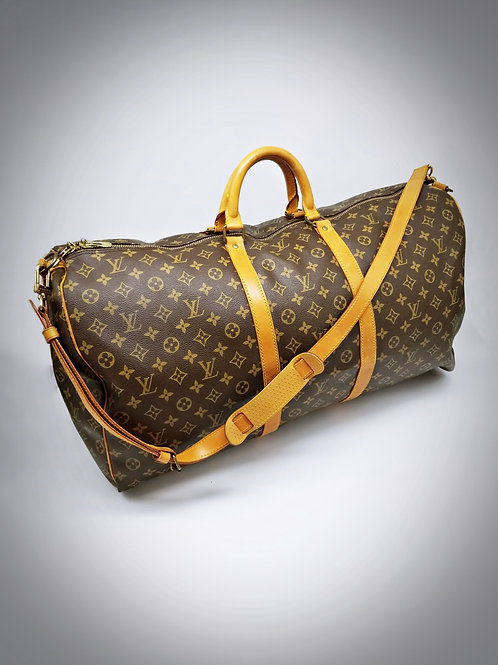 Louis Vuitton Keepall Bandouliere 60 in Monogram Canvas