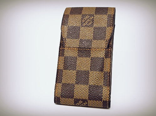Louis Vuitton Cigarette Case in Damier Ebene Canvas