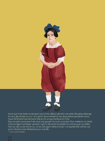 Frida Kahlo enfant.