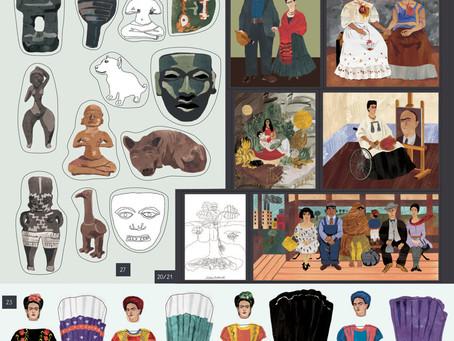 IDOLE. Frida Kahlo et Marie Curie à la UNE