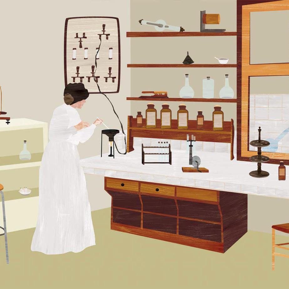 Idole. Marie Curie.