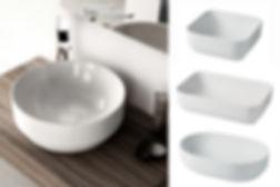 Artceram umývadlá GIO