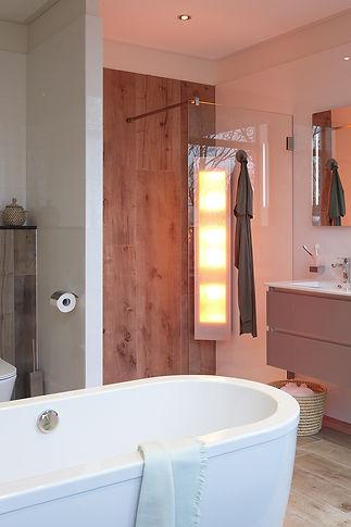 SUNSHOWER rohový model určený na inštaláciu do hotovej kúpeľne