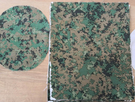 Fral Ballistics Delivers 100% Pantone and NIR camouflage print for use by Singapore Armed Forces