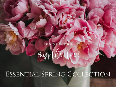 Spring Essentials & Diffuser Blends