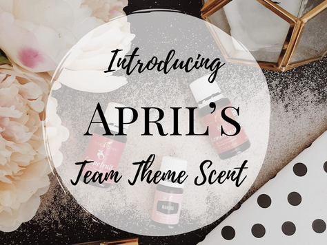 April's Team Theme Scent