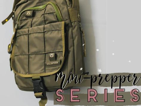 Mini Prepper Series!