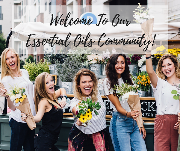 Welcome To Our Essential Oils Community!