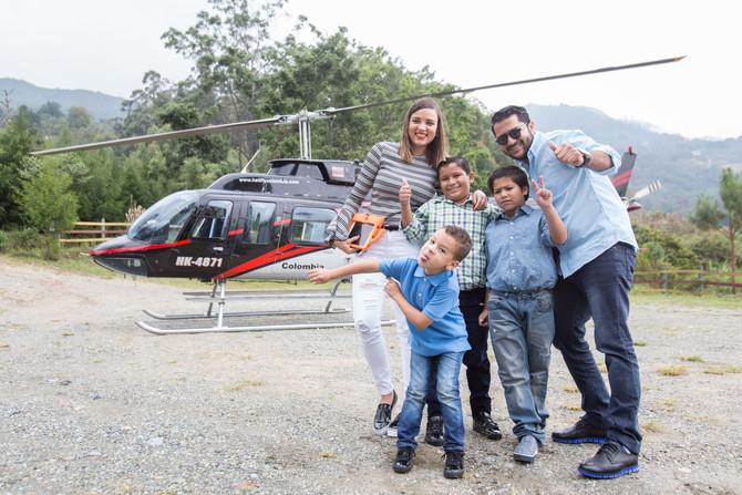 En compañía de Fly Colombia City Tour tus fechas especiales, puedes celebrarlas por lo alto.