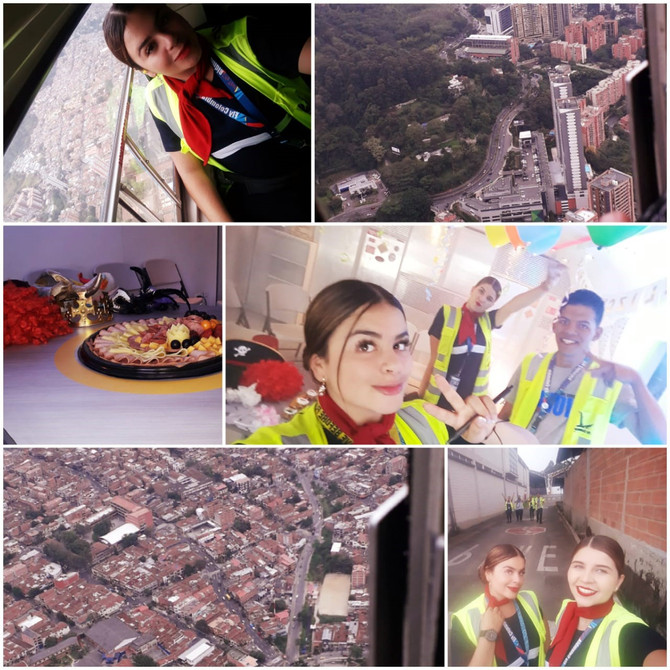 Surcando los cielos de Medellín con Fly Colombia