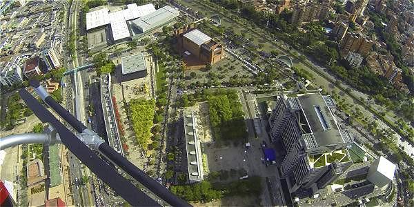 El plan de 'Ruta Urbana' ofrece entre 12 y 15 minutos de panorámicas espectaculares.