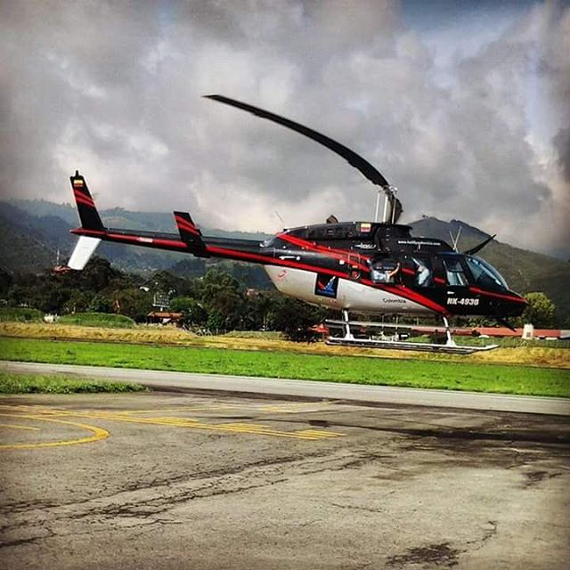 Paseo en Helicoptero Fly Colombia